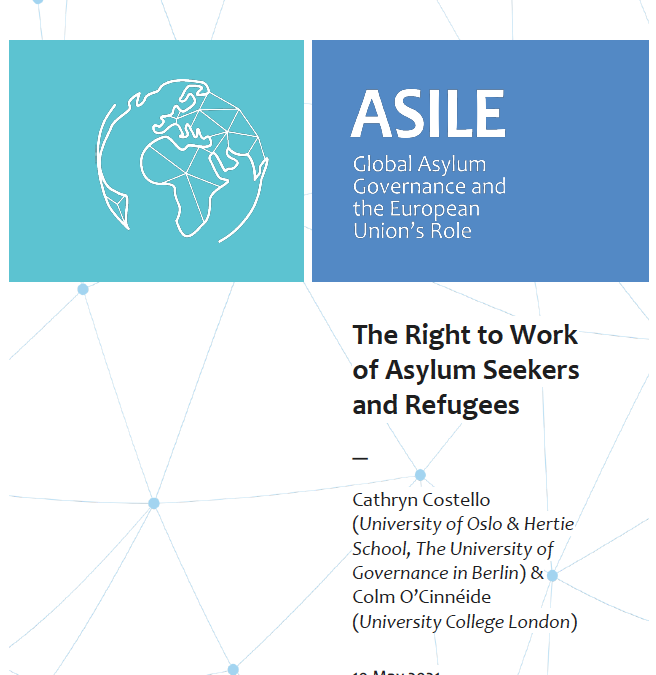 The Right to Work of Asylum Seekers and Refugees