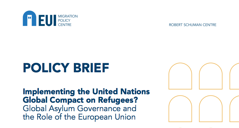 Implementing the united nations global compact on refugees?